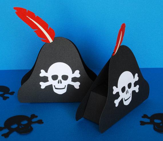Как с бумаги сделать шляпу для пирата