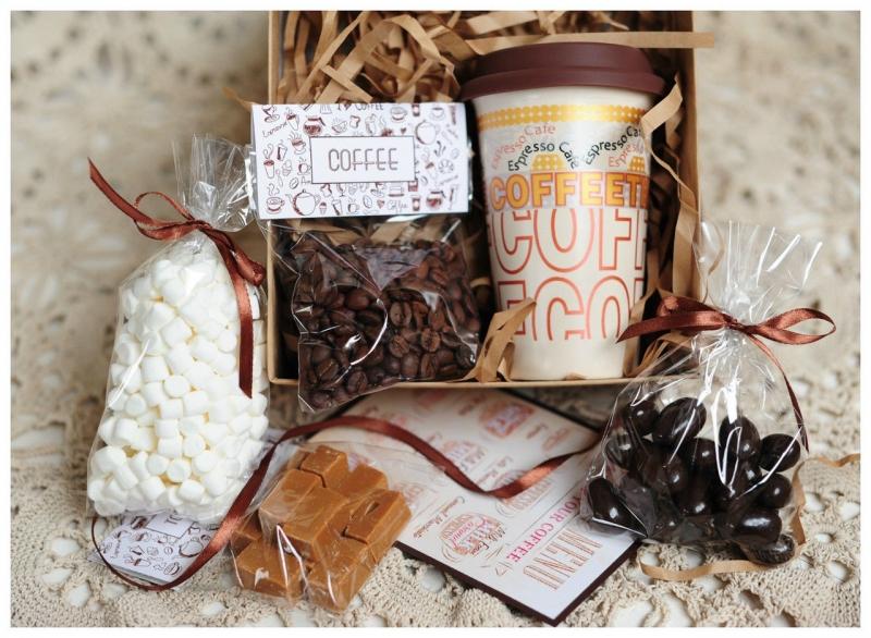 Подарок из чая и шоколада своими руками